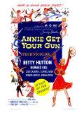 Annie Get Your Gun, 1950 Giclée-tryk