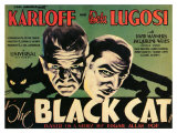 The Black Cat, 1934 Poster