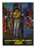 Midnight Cowboy, in German, German Movie Poster, 1969 Print
