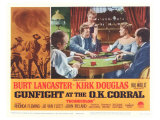 Gunfight at the O.K. Corral, 1963 Reproduction procédé giclée