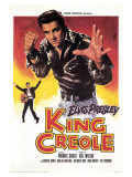King Creole, French Movie Poster, 1958 Kunst