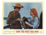 How the West Was Won, 1964 Print