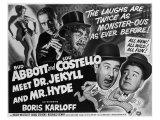 Abbott and Costello Meet Dr. Jekyll and Mr. Hyde, 1953 Digitálně vytištěná reprodukce