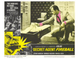 Secret Agent Fireball, 1966 Giclée-Premiumdruck