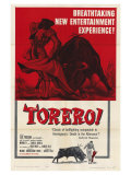 Torero!, 1957 Poster