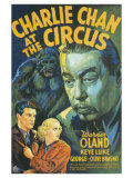 Charlie Chan At The Circus, 1936 Premium Giclée-tryk