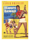 Blue Hawaii, German Movie Poster, 1961 Prints