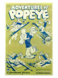 Adventures of Popeye, 1935 Print