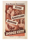 Dodge City, 1939 Premium Giclee Print