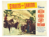 Streets of Laredo, 1956 Posters