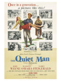 The Quiet Man, 1952 Premium Giclée-tryk
