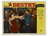 Destry, 1954 Kunst