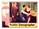 Public Stenographer, 1934 Posters