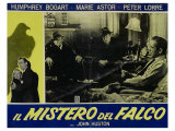 The Maltese Falcon, Italian Movie Poster, 1941 Impressão giclée
