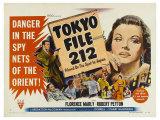 Tokyo File 212, UK Movie Poster, 1951 Art