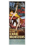 Attack of the Crab Monsters, 1957 Poster