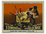 House of Wax, 1953 Reproduction proc&#233;d&#233; gicl&#233;e