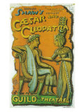Caesar And Cleopatra Prints