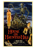House On Haunted Hill, 1958 Reproduction procédé giclée