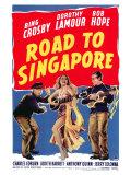 Road to Singapore, 1940 Reproduction procédé giclée