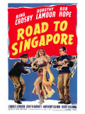 Road to Singapore, 1940 Giclee Print