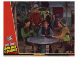 Bad Men of the Border, 1945 Giclée-tryk