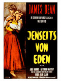 East of Eden, German Movie Poster, 1955 Poster