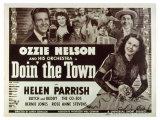 Doin' the Town, 1941 Giclée-tryk