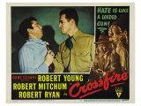 Crossfire, 1947 Print