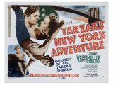 Tarzan's New York Adventure, 1942 Reproduction procédé giclée