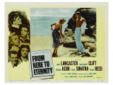 From Here To Eternity, 1953 Lámina giclée