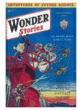 Wonder Stories Posters