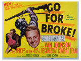 Go for Broke, 1951 Reproduction proc&#233;d&#233; gicl&#233;e