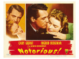 Notorious, 1946 Poster