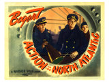 Action in the North Atlantic, 1943 Giclée-tryk