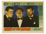 East of the River, 1940 Giclee Print