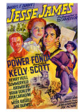 Jesse James, 1939 Print