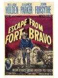 Escape from Fort Bravo, 1953 - Tablo