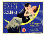 It Happened One Night, 1934 Reproduction giclée Premium