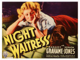 Night Waitress, 1936 Giclee Print
