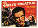 The Saint's Vacation, 1941 Giclee Print