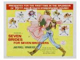 Seven Brides for Seven Brothers, 1954 Prints