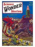 Science Wonder Stories Posters
