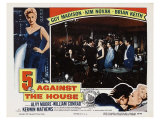 5 Against the House, 1955 Print