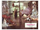 Barbarella, French Movie Poster, 1967 Giclée-Druck