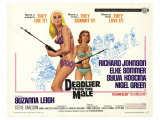 Deadlier Than the Male, 1967 Giclee Print