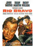Rio Bravo, German Movie Poster, 1959 Giclee Print
