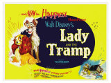 Lady and the Tramp, 1955 Posters