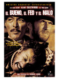 The Good, The Bad and The Ugly, Spanish Movie Poster, 1966 Premium Giclee Print