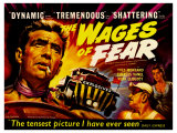 Wages of Fear, UK Movie Poster, 1953 Kunstdrucke